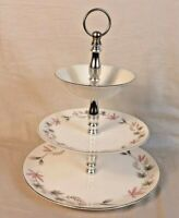 Vintage Canonsburg Allegneny Ware - Three Tier Plate Tower