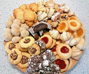 🤶 1 kg selbstgemachtes Gebäck Kekse Plätzchen Weihnacht 10erlei selbstgebacken