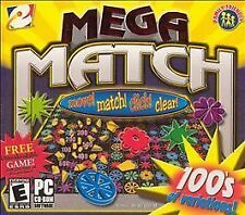 MEGA MATCH (2004) PC CD-ROM NEW & FACTORY SEALED