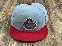 Texas Rangers Gray/Red MLB Baseball Hat - New Era - 7 ¼