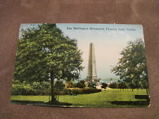 Early postcard - Wellington Monument Phoenix Park Dublin - Ireland