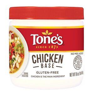 Tone's Chicken Base 16 oz. Jar (pack of 2)