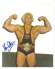 m328 Ken Patera signed Classic Wrestling 8x10 w/Coa