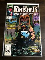The Punisher War Journal #17 Hawaii Feat. Kingpin Marvel Comics 1990 VF Jim Lee