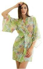 Kimono Floral Everyday Short Nightwear for Women