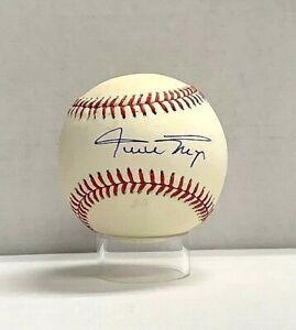 Willie Mays Signed Official National League Baseball Beckett BAS Auto HOF NICE
