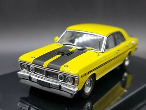 BIANTE AUTOART Ford Falcon XY GTHO Phase 3 Yellow Glo 1:43 Scale Diecast Model