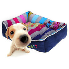 Pet Dog Kitten Puppy Soft Warm Bed Sofa Cushion Mat Basket House Kennel Color S