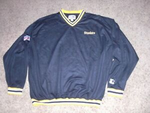 Vintage 90s PITTSBURGH STEELERS Pro Line authentic STARTER Pullover shirt XL