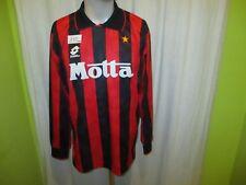 """AC Mailand Original Lotto Langarm Heim Trikot 1993/94 """"Motta"""" Gr.XL TOP"""