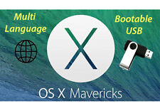 ✅ Mac OS X Mavericks 10.9 - torito USB (Recovery, Upgrade, Fresh install)