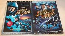 Starship Troopers and Starship Troopers 2 (DVD, Special Edition) New Unopened!