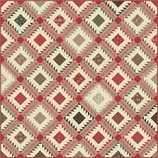 Petites Maisons De Noel Quilt Kit Quilt Pattern & Moda Fabric by French General
