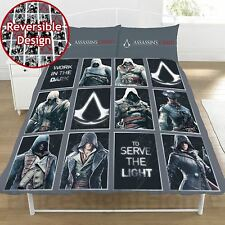 ASSASSIN'S CREED LEGACY SET Housse de couette double LITERIE enfants - 2 en 1