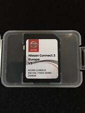 NISSAN CONNECT 3 V3 SD CARD 2018 NAVIGATION MAP UPDATE Micra/Note/Qashqai/juke