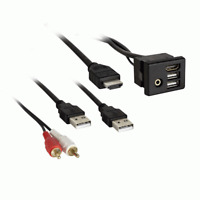 AX-GMUSBAUX-3 AXXESS  / 2014 - UP GM  USB HUB KNOCKOUT REPLACEMENT w/ 3 FT CABLE