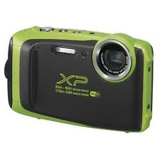 Fuji Fujifilm Finepix XP-130 20M Underwater Camera Black / Lime (UK Stock) BNIB