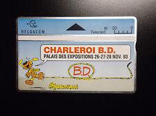 Carte de téléphone Marsupilami Charleroi BD 2000 ex ETAT NEUF