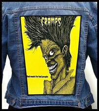 THE CRAMPS - Bad Music for Bad People  --- Back Jacket Patch backpatch