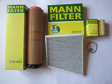 MANN Oil Filter Air Filter Activated Carbon W211 S211 200 220 270 CDI E-CLASS