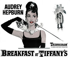 Breakfast at Tiffany's (1961) Audrey Hepburn movie poster print 24x30 inches