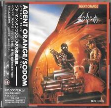 SODOM Agent Orange JAPAN CD OBI 1993 Metal Mania TECX-20525 / Kreator Coroner