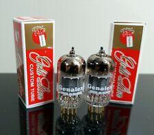 Matched Pair (2) Genalex ECC82/12AU7/B749 tubes Gold Pins - Russia