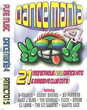 Various Dance Mania 4 CASSETTE ALBUM RnB/Swing  Euro House Shamen N-Trance