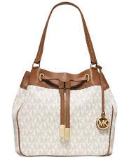 Michael Kors Marina Vanilla Signature Large Shoulder Bag * NON OUTLET*