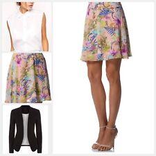Women's Soft Summer Floral Print Mini Skirt  **NEW (Size 12)