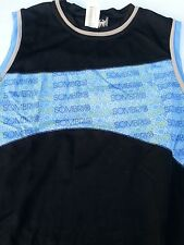 Sombrio Nucleus  Med Sleeveless Jersey Black/Aqua