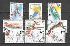 BULGARIA Conjunto de sellos usados de Deportes