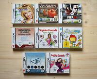NDS - 8 Spiele für Nintendo DS in OVP (Set 7)