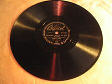 "PEGGY LEE. ALL DRESSED UP WITH A BROKEN HEART / MANANA, 10"", 78RPM,EX"