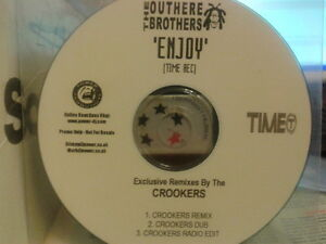 Outhere Brothers - Enjoy Exclusive Crookers Remixes CDr single PROMO 2009 MINT
