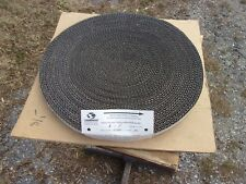 "Cambridge Wire Precision Flat 304 Stainless Steel Mesh Conveyor Belt 1"" W 100' L"