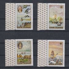 TIMBRE STAMP 4 ILES COOK Y&T#182-85  ART BATEAU BOAT NEUF**/MNH-MINT 1962 ~B78