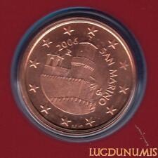 Saint Marin 2006 5 Centimes D'Euro BU FDC 70 000 exemplaires Provenant du BU RAR