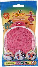 Hama 1000 Midi Bügelperlen 207-72 Transparent-Pink Ø 5 mm Perlen Steckperlen