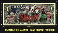 SLIPKNOT IMAN BILLETE 1 DOLLAR BILL MAGNET
