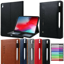 "For iPad Mini Air Pro 9.7"" 11"" 10.2"" Smart Leather Wallet Case Protective Cover"