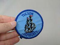 Tucson Arizona Boy Scout Jamboree Shirt Hat Jacket Patch Ship Sailing VTG 70s