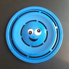 "Blue Plastic Flying Discs Frisbee Emoji Print 11.25"" Free and Fast Shipping"