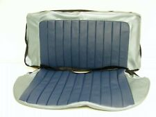 FORD CONSUL CLASSIC 109E REAR SEAT COVERS - TWO TONE VINYL