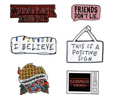 Stranger Things Enamel Lapel Pin Badge - 6 Designs Available