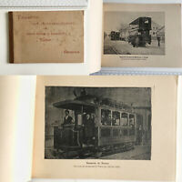 Catalogo Tramway Tudor Genova - 1898 (catalog) Paris, Torino, Copenaghen, etc..