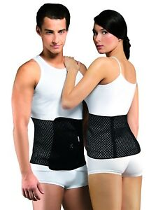 Hernia Abdominal Post Surgery AIR Support Belt with Two Flexible Back Stays