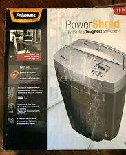 Powershred W11C 11-Sheet Cross-cut Paper and Credit Card Shredder Heavy Duty