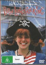 THE NEW ADVENTURES OF PIPPI LONGSTOCKING - NEW & SEALED DVD FREE LOCAL POST