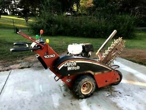 2005 Ditch Witch  Model 1030H Trencher walk-behind